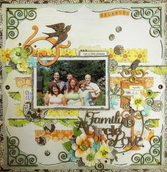 Family is a Circle of Love (scrap-utopia)
