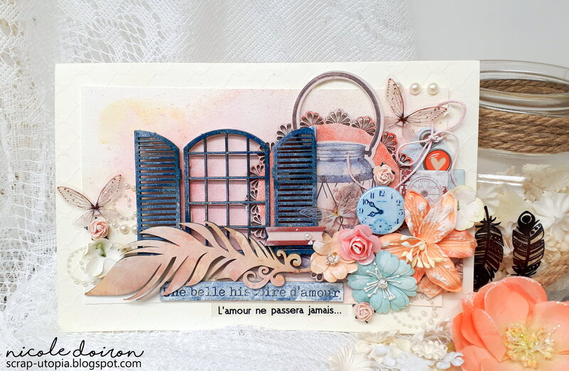 Histoire d'amour Wedding Card (scrap-utopia)