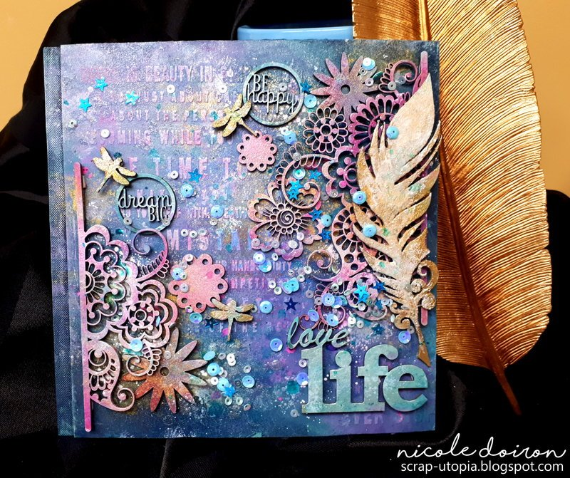 Love Life Notebook (scrap-utopia)