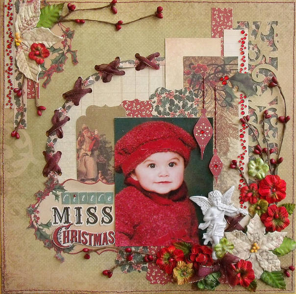 Little Miss Christmas (scrap-utopia)