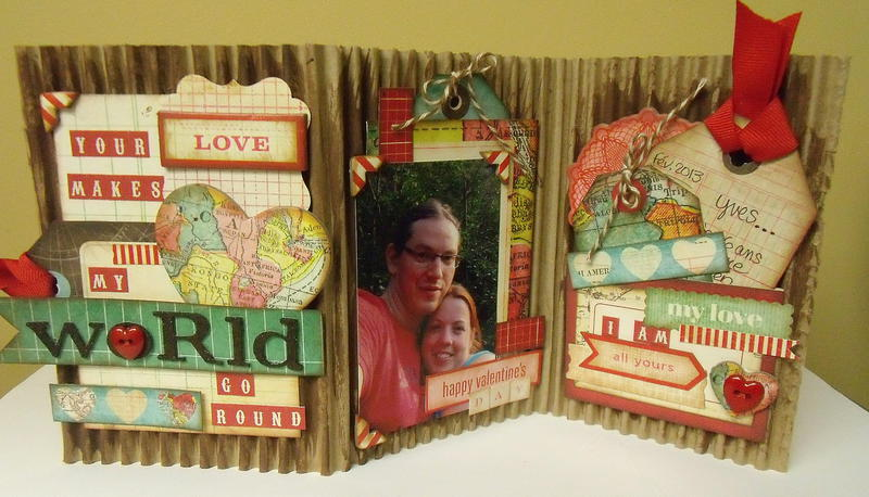 Mini Folding Album (scrap-utopia)