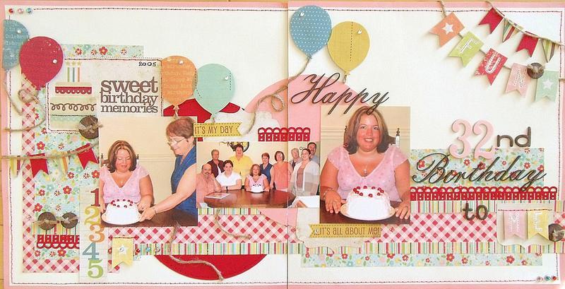 Sweet Birthday Memories (scrap-utopia)