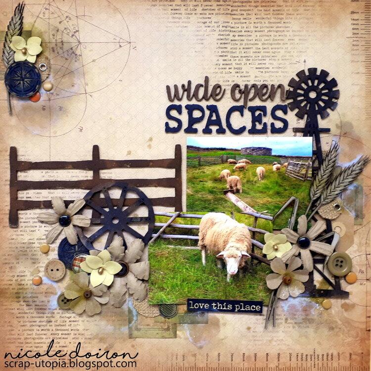 Wide Open Spaces (scrap-utopia)