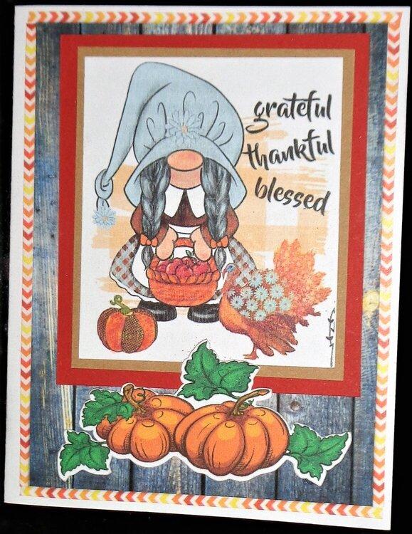 Grateful - Thankful - Blessed