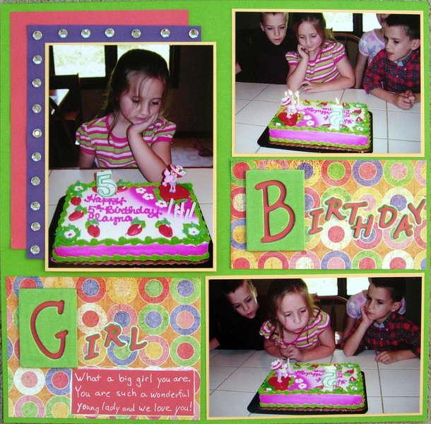 Birthday Girl pg1