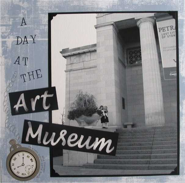 A Day at the Art Museum