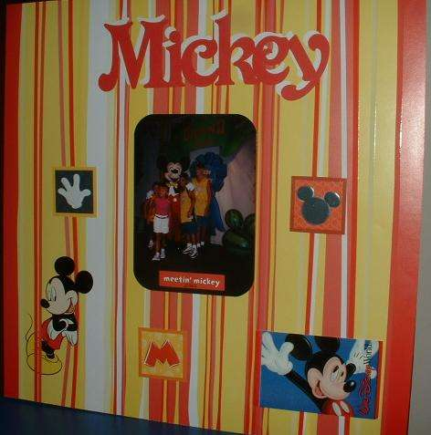 MEETING MICKEY MOUSE 2001