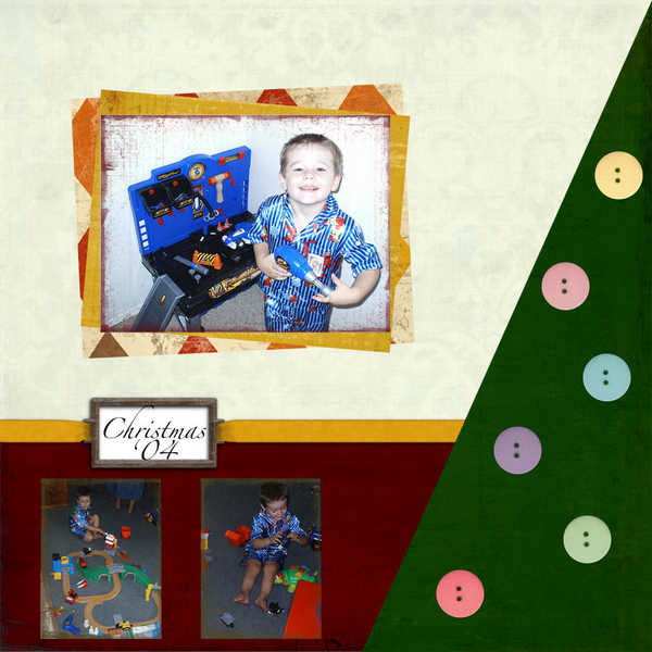 Christmas Layout Page 1