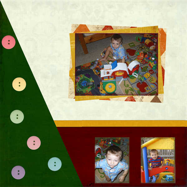 Christmas Layout Page 2