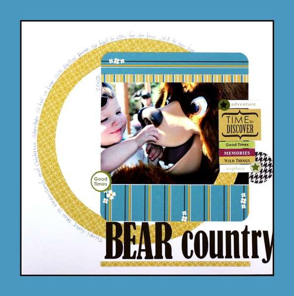 Disney Bear Country #1 *Bella Blvd*