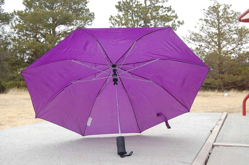 4.  An umbrella {8 pts.}