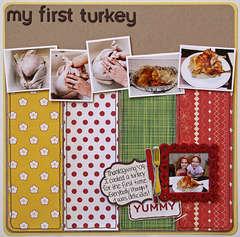 My First Turkey