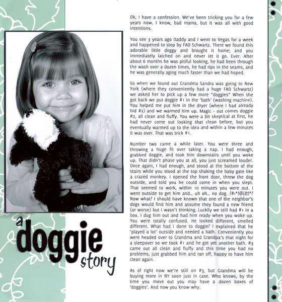 A Doggie Story