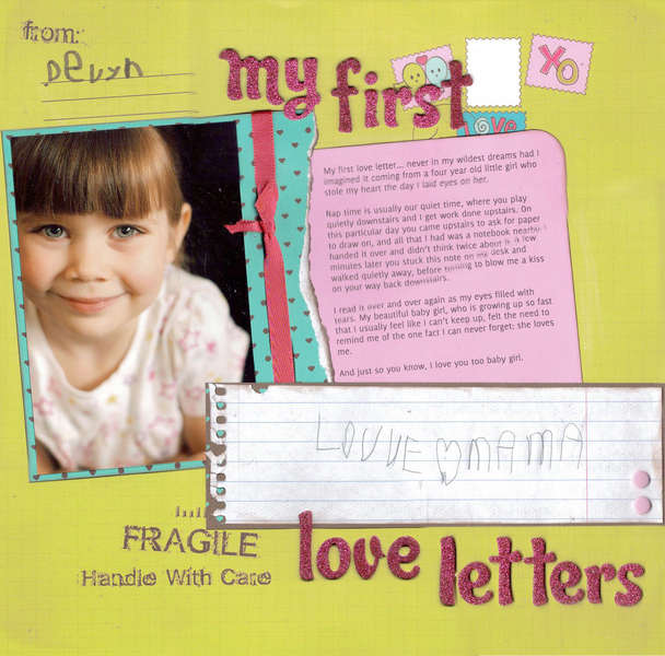 My First Love Letters