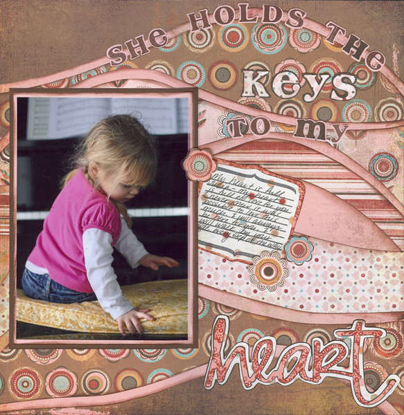 She Holds The Keys To My Heart
