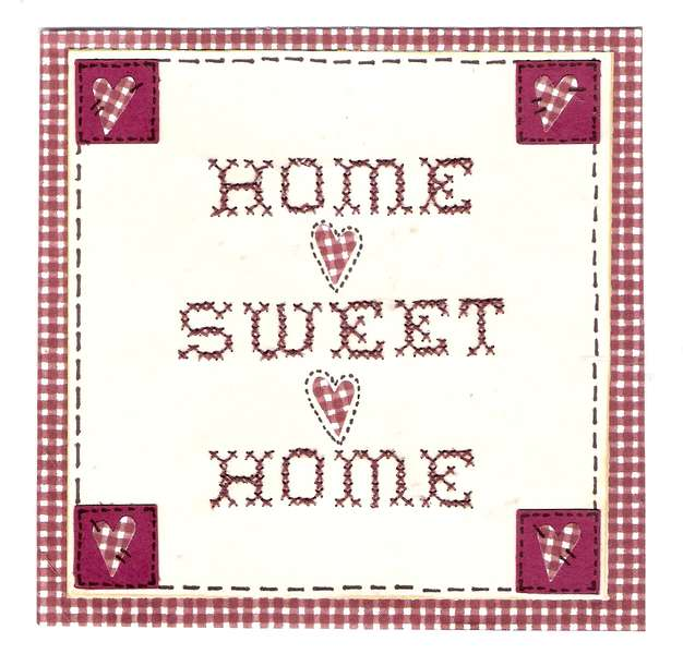 Home Sweet Home Title Block