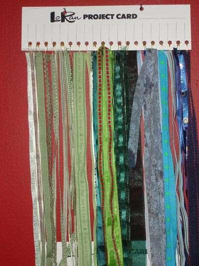 Loose Ribbon Storage