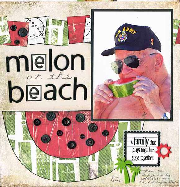 Melon At The Beach