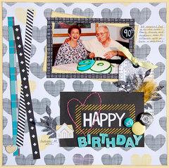 Happy Birthday *American Crafts*