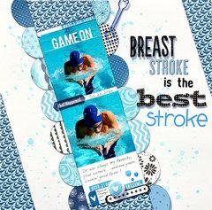 Breast Stroke Is The Best Stroke