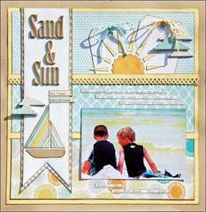 Sand & Sun *Scraptastic Club*