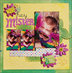 Hey Mister *Scraptastic June*