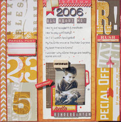 All About Me *Scraptastic October*