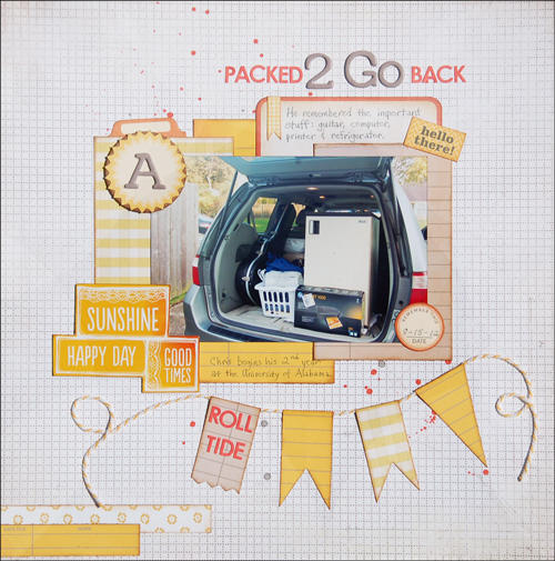 Packed 2 Go Back *Scraptastic October*