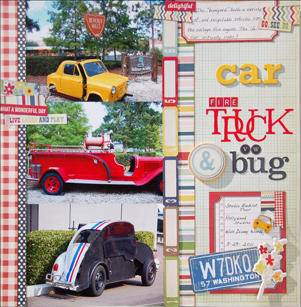 Car, Firetruck, & VW Bug *Disney*