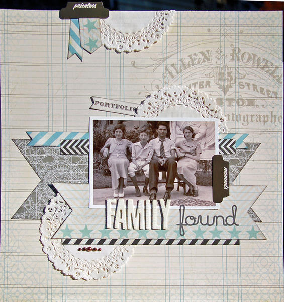 Family Found *Scraptastic November+