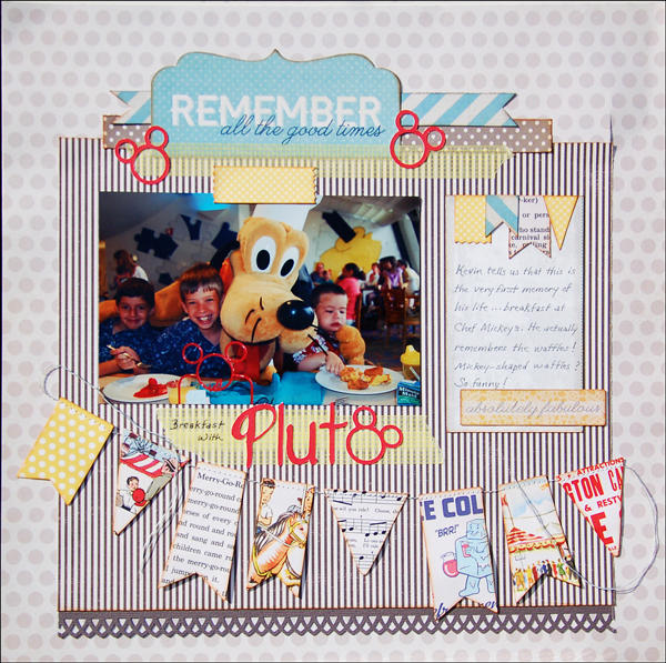 Breakfast with Pluto *Scraptastic*