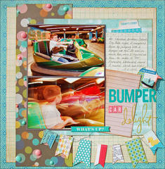 Bumper Car Delight*Scraptastic*