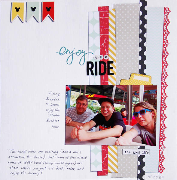 Enjoy the Ride *Scraptastic January*