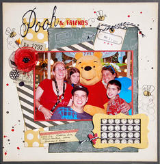 Pooh & Friends *Scraptastic January*