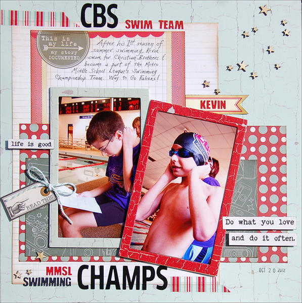 CBS Champs *Scraptastic January*