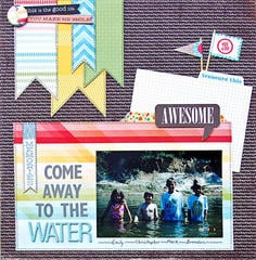 Come Away To The Water *Scraptastic Kit*