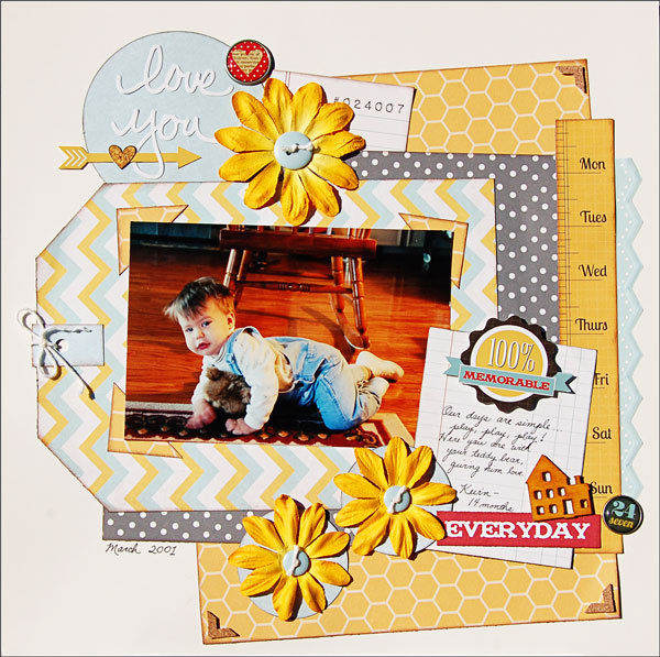 Love You *Scraptastic June Kit*