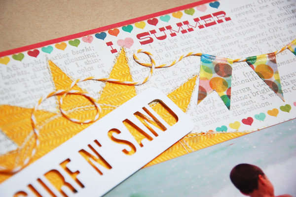 Surf 'N Sand *Scraptastic July*