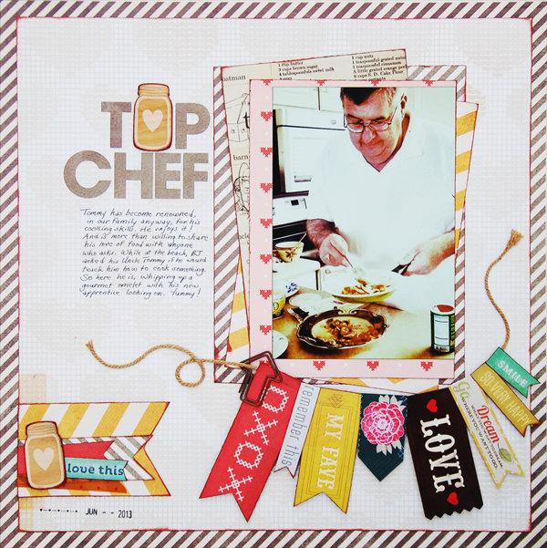 Top Chef *Scraptastic October*
