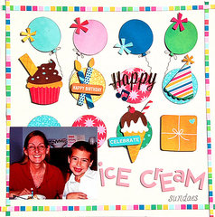 Ice Cream Sundaes *Scraptastic*