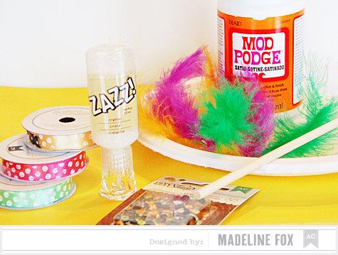 Mardi Gras Mask *American Crafts*
