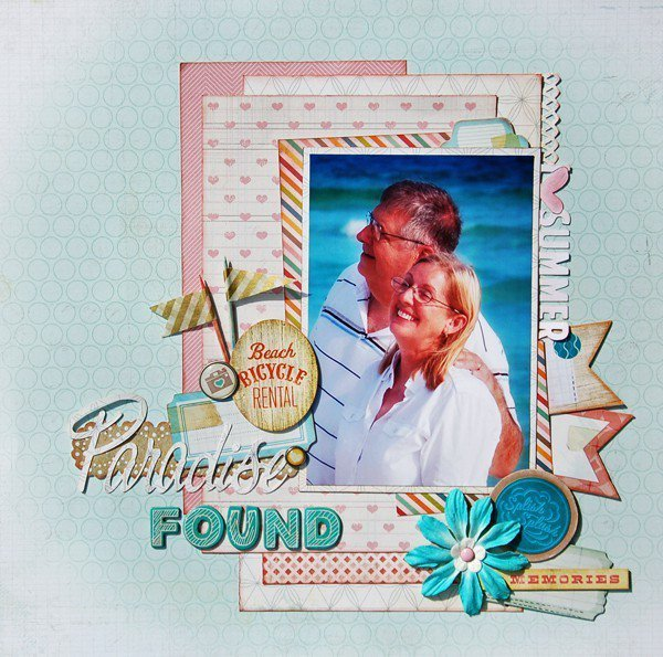 Paradise Found *Scraptastic July*