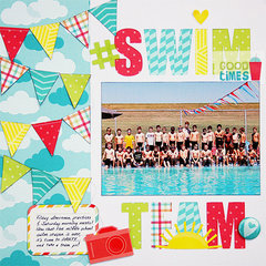 Swim Team *American Crafts*