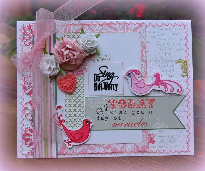 """Suzy West """"WOW"""" card"""