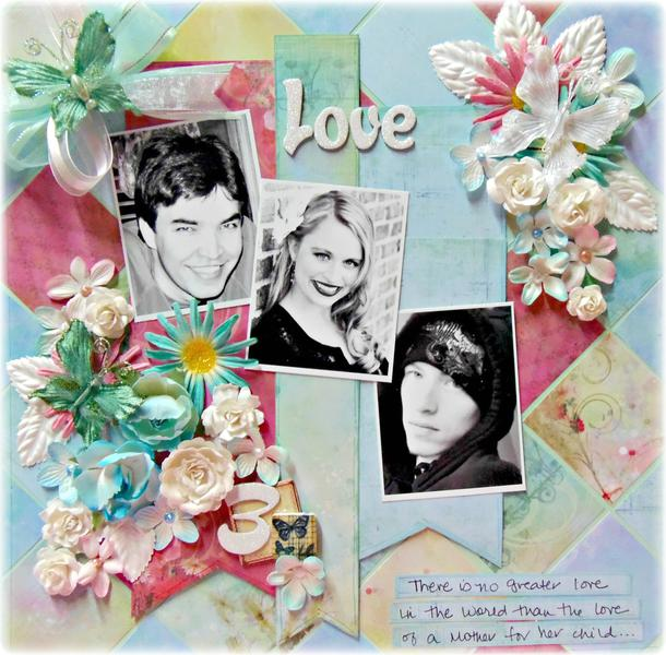 """Love""  Craft-Dee Bowz Blog Hop"