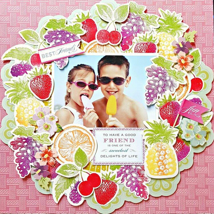 Anna Griffin *Tutti Fruitti Stamps, Dies & Inks*