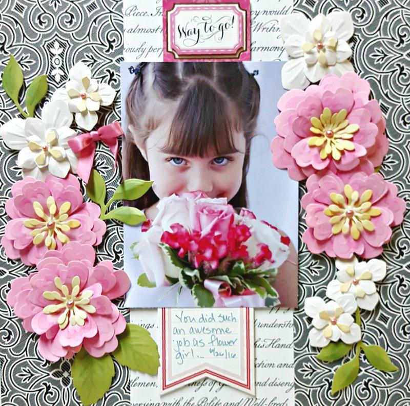 Anna Griffin *3D Flower Dies*