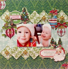Christmas Cheer **Anna Griffin**