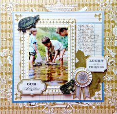 *Anna Griffin*  Border stamps