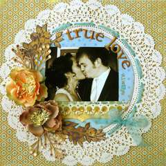 True Love ~MYCREATIVESCRAPBOOK~